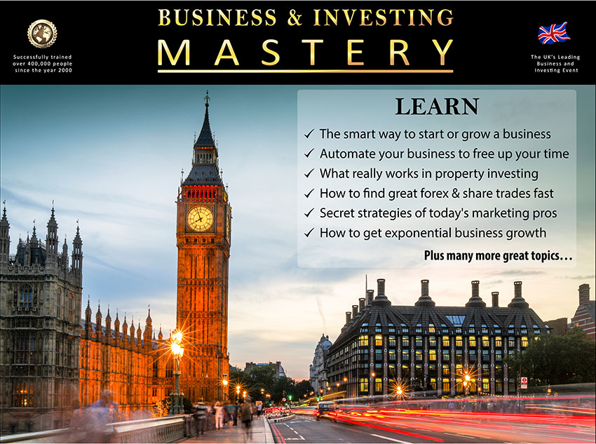 Business and Investing Mastery - Live 2 Day Training Course
