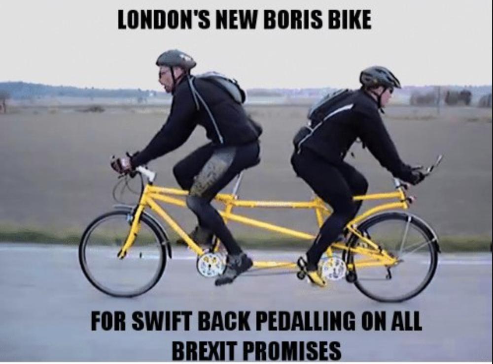 Back-Pedalling Brexit