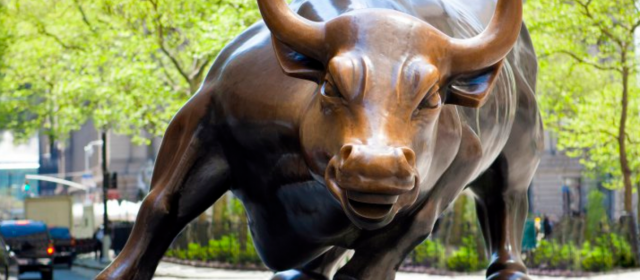 A stock bull market by default