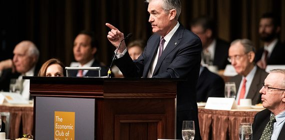 Fed Chair Powell's Dovish stance